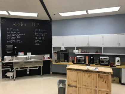Coffee shop / classroom